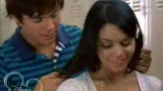 Troy e Gabriella-HSM 2 scene