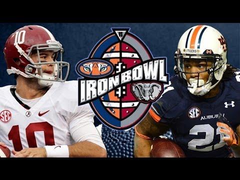 Alabama Vs Auburn Tide Battle Tigers For 2013 Iron Bowl Youtube