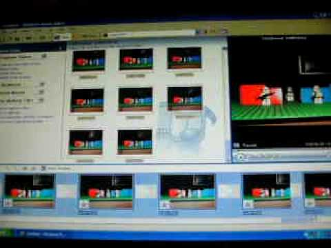 How to make a lego stop motion with windows movie maker - YouTube
