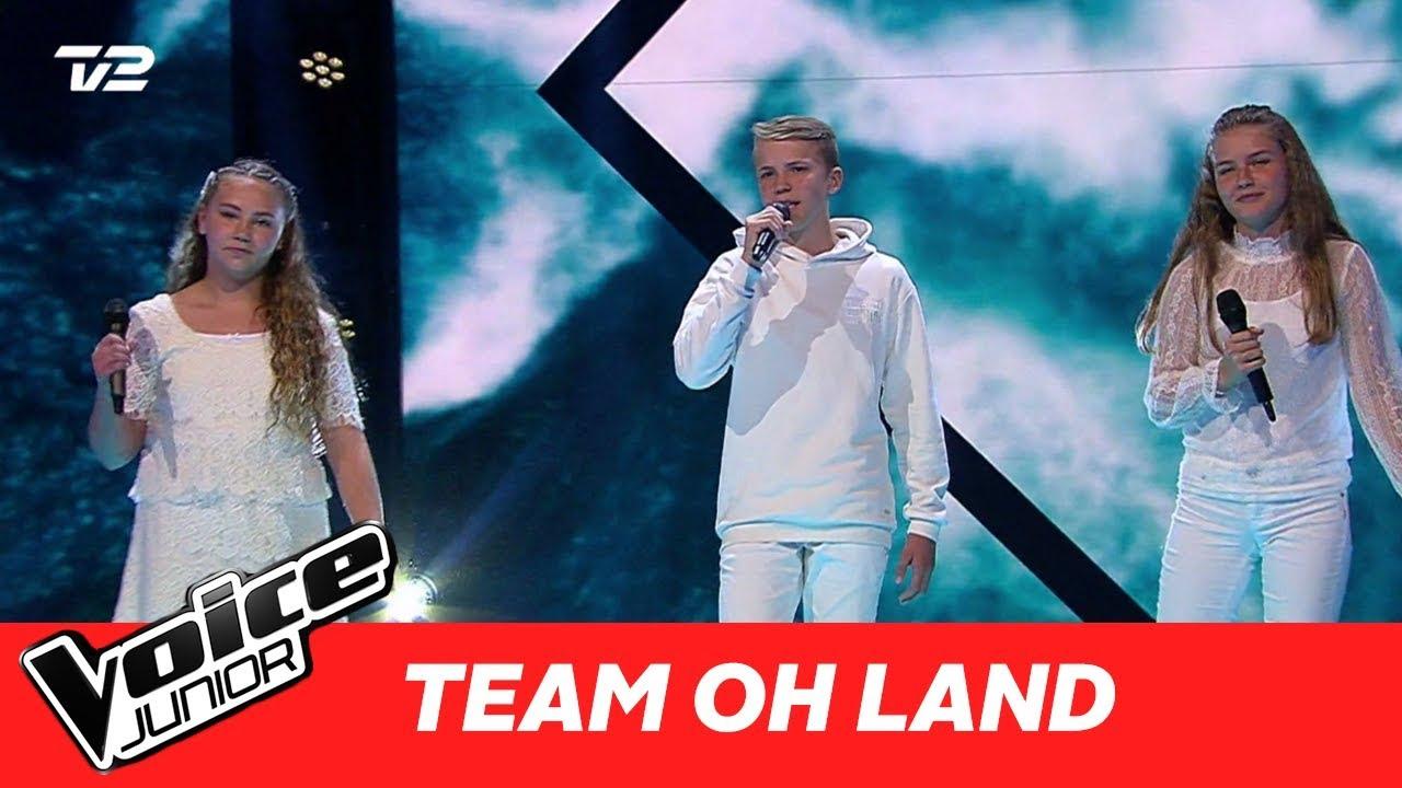 dafne svend sara team oh land kiss from a rose af seal super battle voice junior 2017