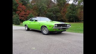 1970 Dodge Challenger R/T with Gator Grain Top & 440 Engine Sound - My Car Story with Lou Costabile