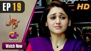 Karam Jali - Episode 19 | Aplus Dramas | Daniya, Humayun Ashraf | Pakistani Drama