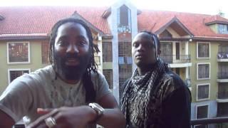 JAMAICAN singer GINJA & KENYAs DJ/MC KRISS DARLIN LIVE!!! in DUBAI...