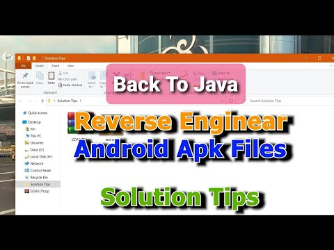 Android APK To JAVA Code - Apk Reverse Engineering Tool - Solution Tips