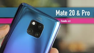 Huawei Mate 20 and Mate 20 Pro hands-on