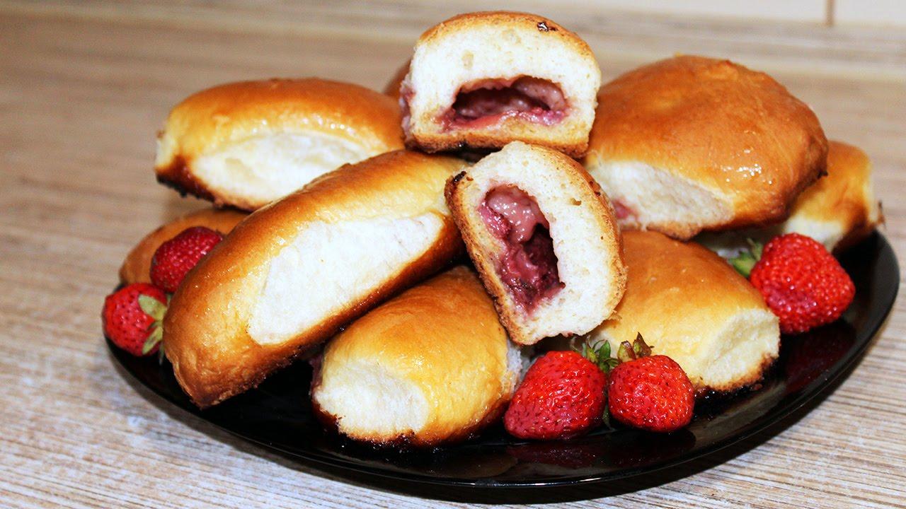 Пирожки с клюквой в духовке рецепт