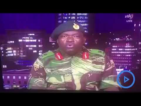 Zimbabwe's army takes control of state broadcaster