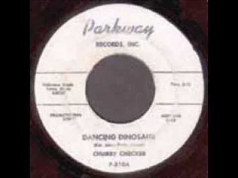 Chubby Checker - Dancing Dinosaur + Those Private Eyes (Rare Parkway single from 1960)