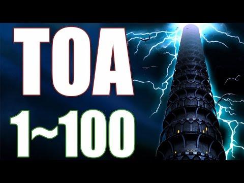 SUMMONERS WAR - Torre da Ascensão 1~100 (ToA) - (Agosto/Setembro de 2016)