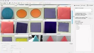 Detección de Color y Forma LabVview (Vision Assistant)