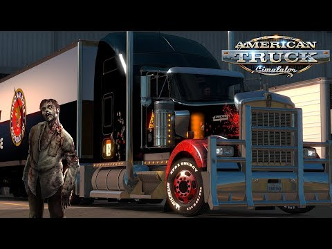 American Truck Simulator: KW900 - The Springs To Denver - Zombies In Colorado?