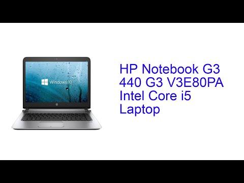 HP Notebook G3 440 G3 V3E80PA Intel Core i5 Laptop Specification