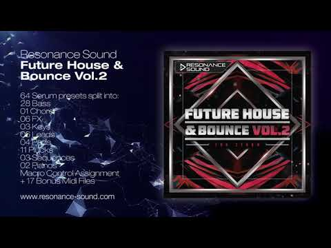 Future House & Bounce Vol 2 for Serum | Resonance Sound