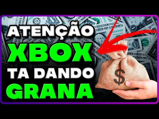 ATENÇÃO: XBOX ESTÁ DANDO DINHEIRO PARA SEUS USUÁRIOS