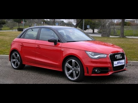 audi a1 sportback 2 0 tdi s line youtube. Black Bedroom Furniture Sets. Home Design Ideas