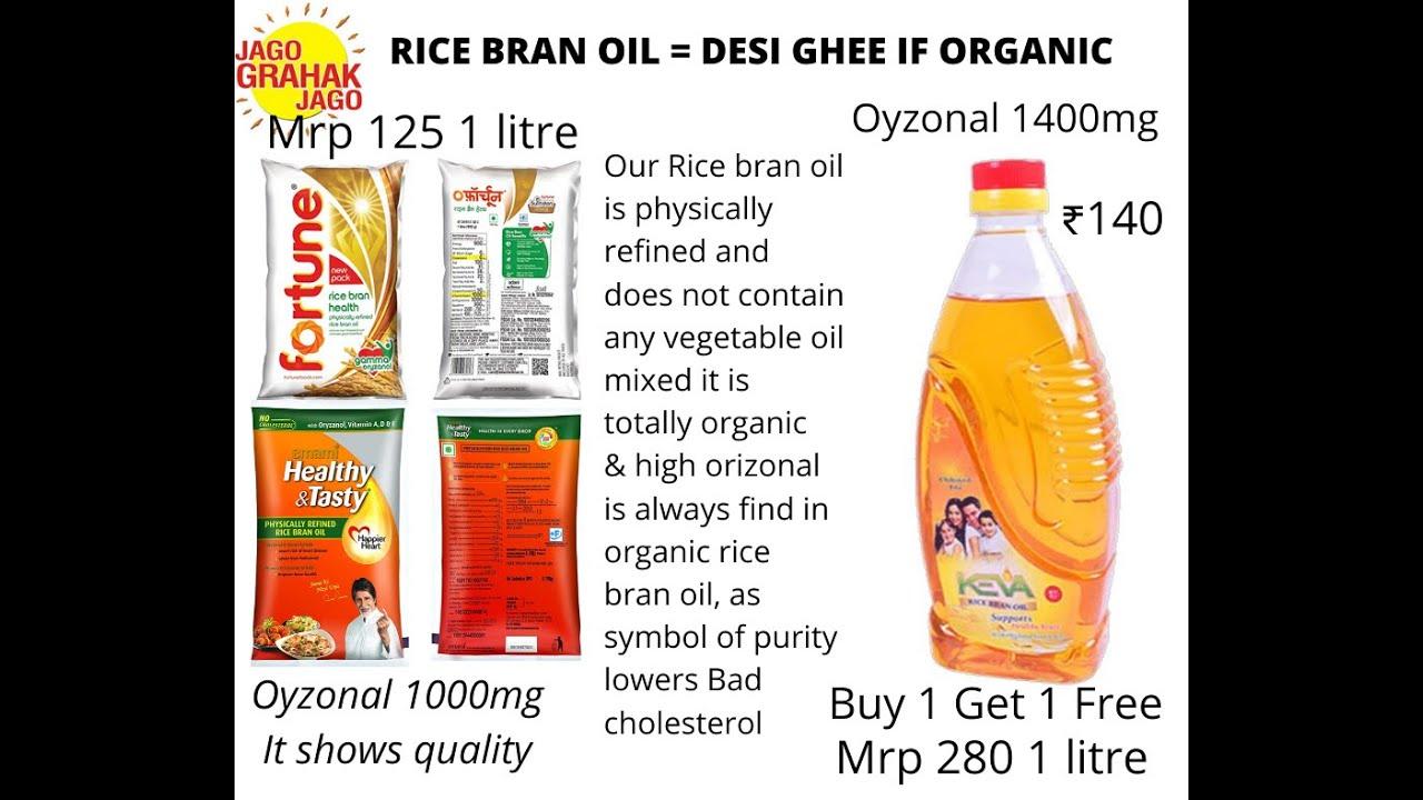 Full Detail About KEVA  Rice Bran Oil Hindi Video.