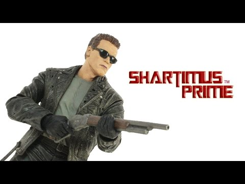 NECA Ultimate T-800 Terminator 2 Judgement Day Movie 7 Inch Toy Action Figure Review