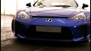 Lexus LFA - Under the Hood - Supercar Garage - Top Gear Live 2014