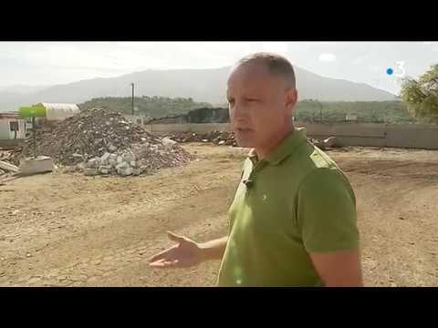 Écologie : que faire des déchets de chantier ? - - France 3 Corse ViaStella