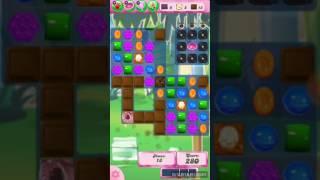 Candy crush saga level 1598 No booster