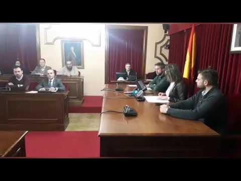 Declaración institucional en el Concello contra el crimen de As Gándaras
