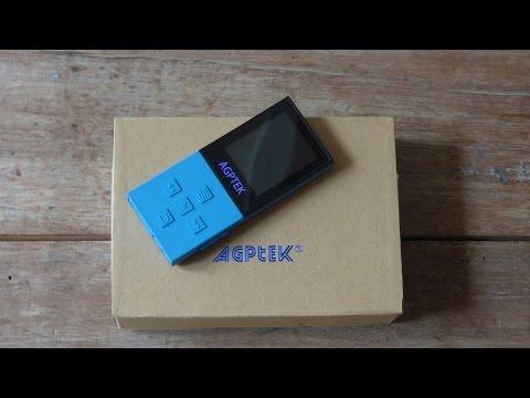 AGPTek A18 Lecteur MP3 Bluetooth 8Go, Unboxing [FR]