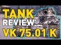 World of tanks vk 75 01 k tank review mp3