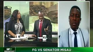 TVC Breakfast Oct 16th | FG Vs Senator Misau