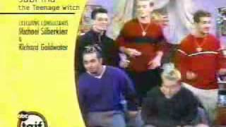 N'sync in Sabrina The Teenage Witch