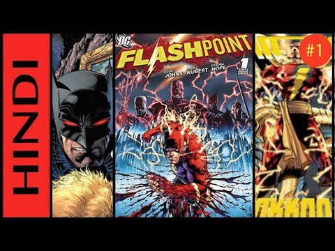 FlashPoint | Episode 01 | Explained IN HINDI | Comicbook Storyline IN HINDI
