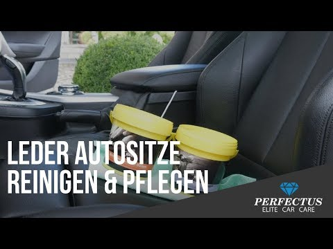 Lederpflegeauto Ledersitze Reinigen Pflegen Youtube