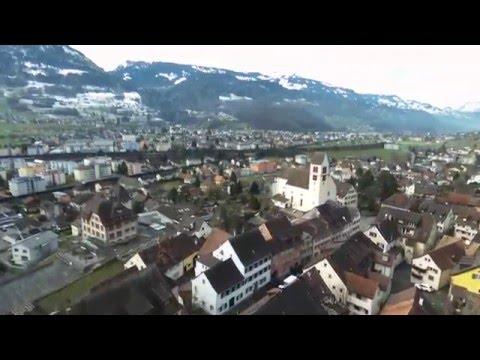 Best of Parrot Bebop 2 Switzerland Part 1 Winter 2016