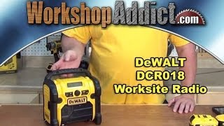 DeWALT Work Site Radio DCR018 Review