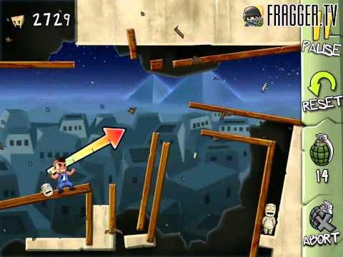 Fragger Monster Dash Level 26 Walkthrough