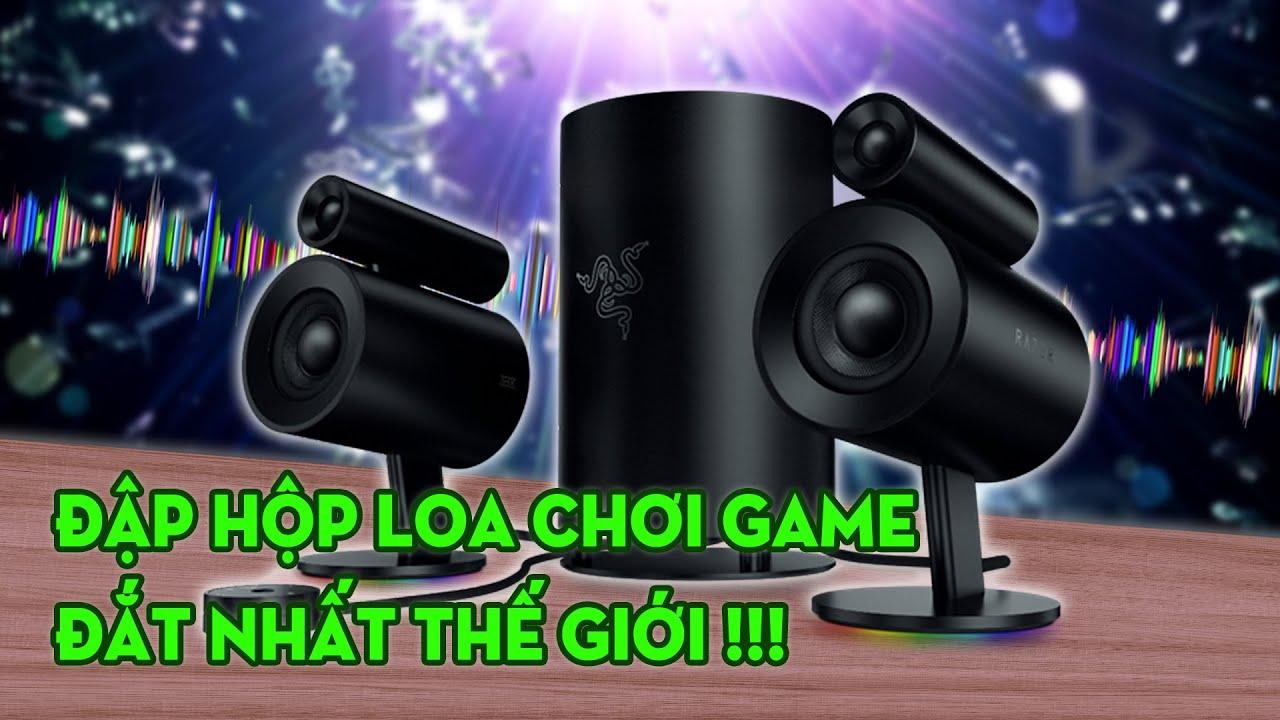 Đập hộp loa chơi game đắt nhất thế giới và cái kết: Review Loa Razer Nommo Pro!