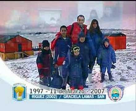 ESCUELA ARGENTINA EN LA ANTARTIDA-Base Antártica Esperanza