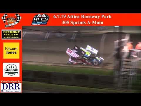 6.7.19 Attica Raceway Park 305 Sprints A-Main
