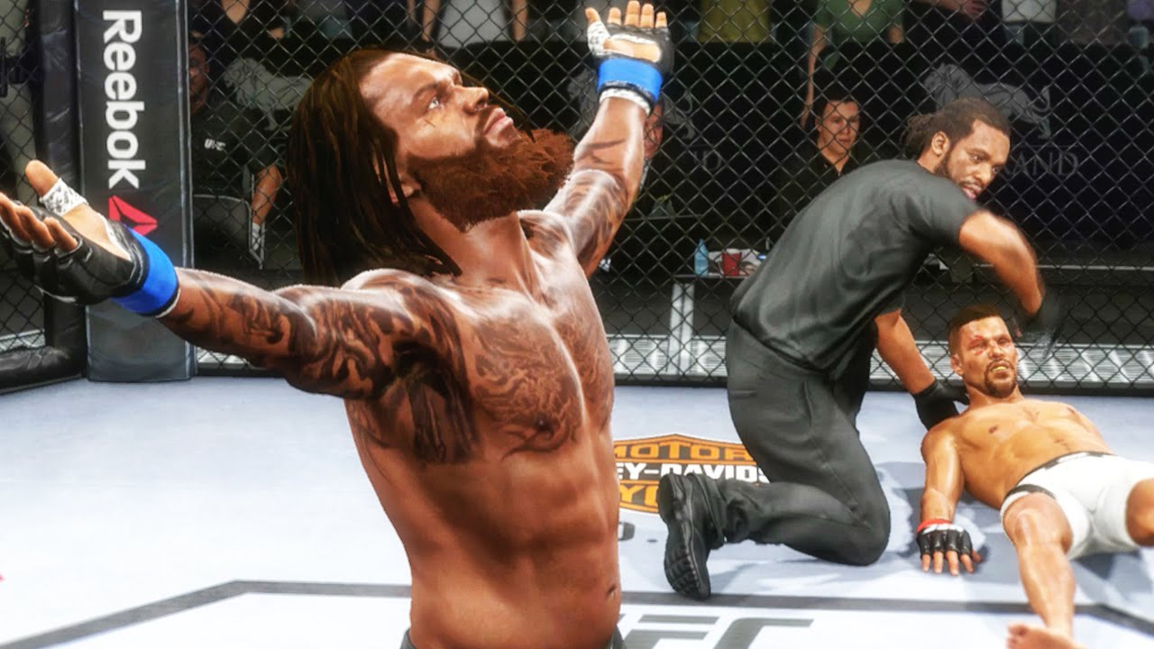 Image result for ea ufc 2 career mode