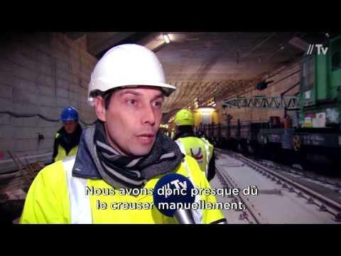 Le tunnel Schuman-Josaphat ouvert à la presse