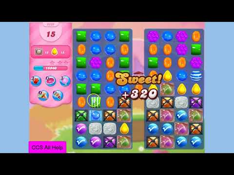 Candy Crush Saga Level 3235 NO BOOSTERS Cookie