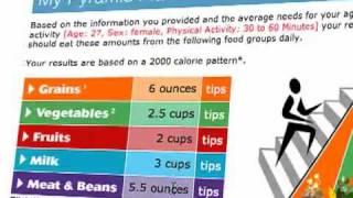 USDA Food Pyramid Explained