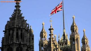British Flag On Top Of Victoria Tower - Youtube.com/tanvideo11