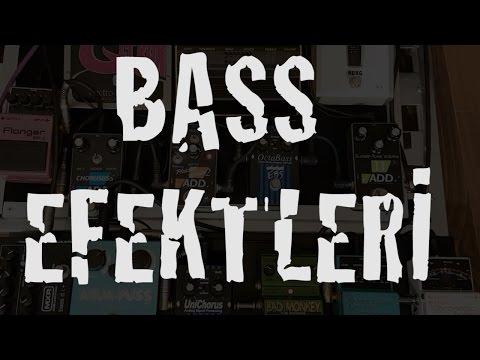 Bass Efektleri İnceleme (Pedal Boardum )