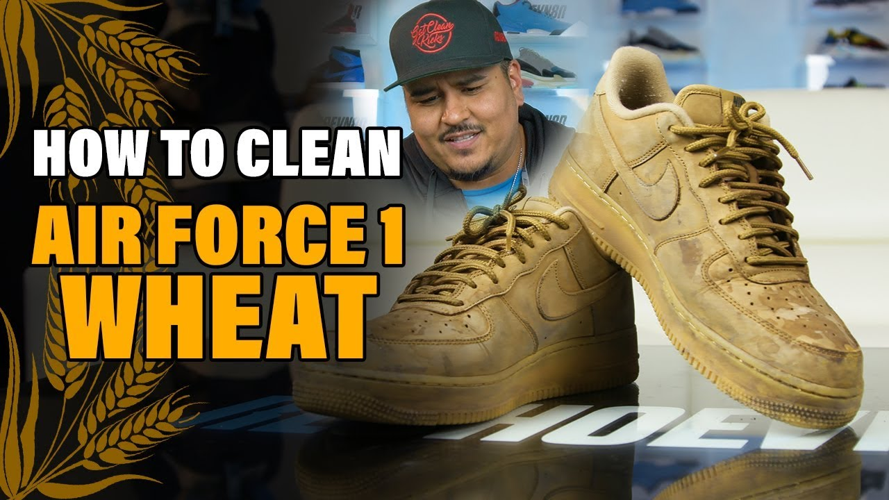 The best way possible to clean Nike Air Force One's!!! YouTube