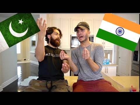 PAKISTANI'S try to speak like INDIANS...