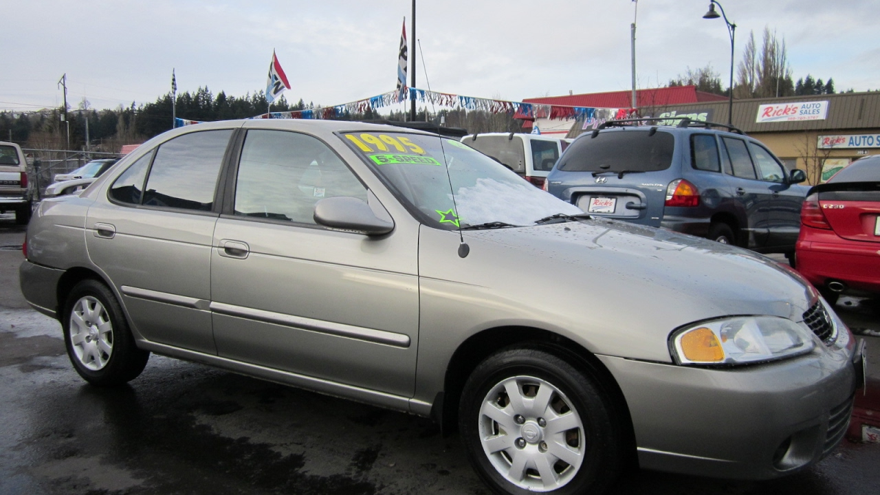 Exceptional 2002 NISSAN SENTRA GXE SEDAN SOLD!!