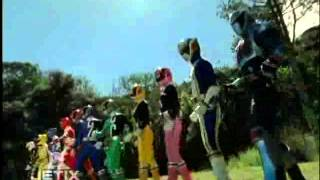 Power Rangers S.P.D.  - S.P.D. and Dino Thunder Teamup
