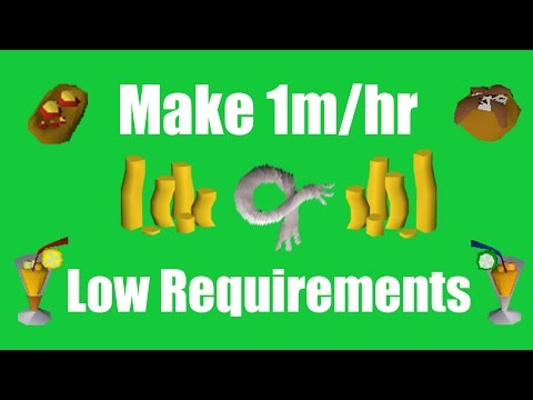 [OSRS] Make 1M/hr with Low Requirements - Oldschool Runescape Money Making Method!