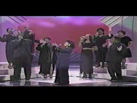 """CeCe Winans--""""All Because Of You""""--(LIVE)"""