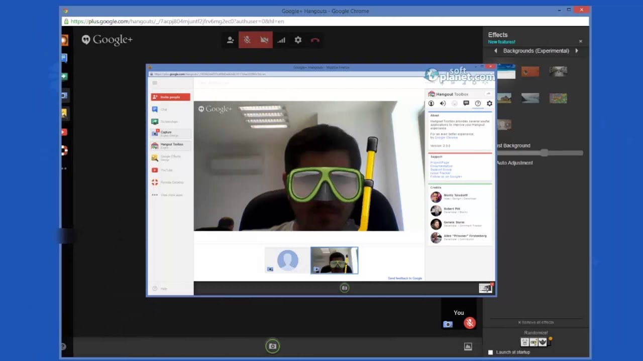 Review of Google Hangouts 2 0 0 by SoftPlanet